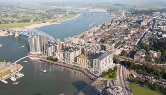Bouwfonds scheept Handelskade Nijmegen in bij Buro voor de Boeg