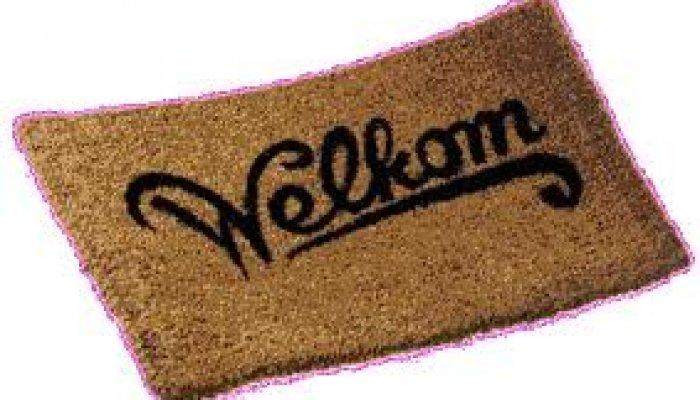 Een warm welkom – een heel nieuw concept!