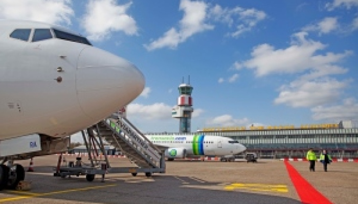 Website Rotterdam The Hague Airport