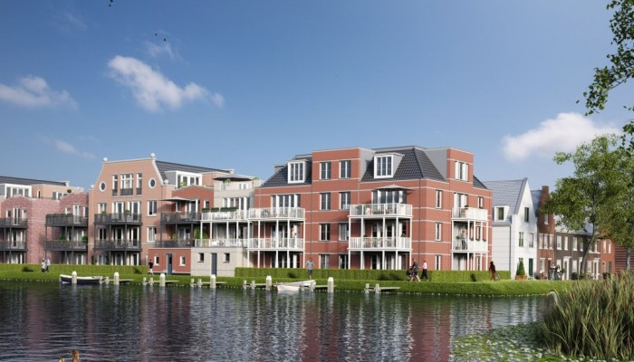 Appartementen in De Oevers