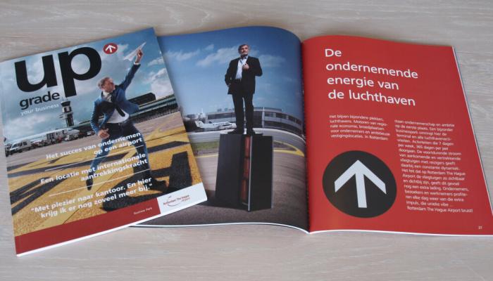 De ondernemende energie van Rotterdam The Hague Airport