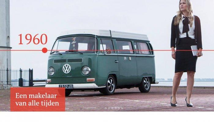Rebranding Van der Hoek Makelaars