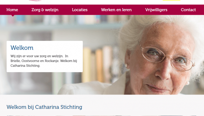 Intranet Catharinastichting opgeleverd