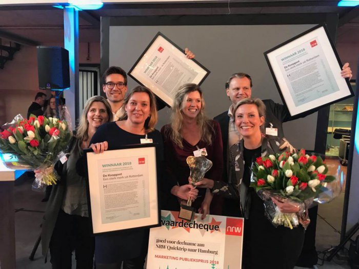 Koopgoot Rotterdam wint NRW Marketingprijs 2018!