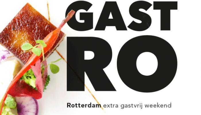 GASTRO: nieuw stadsfestival voor Rotterdam!