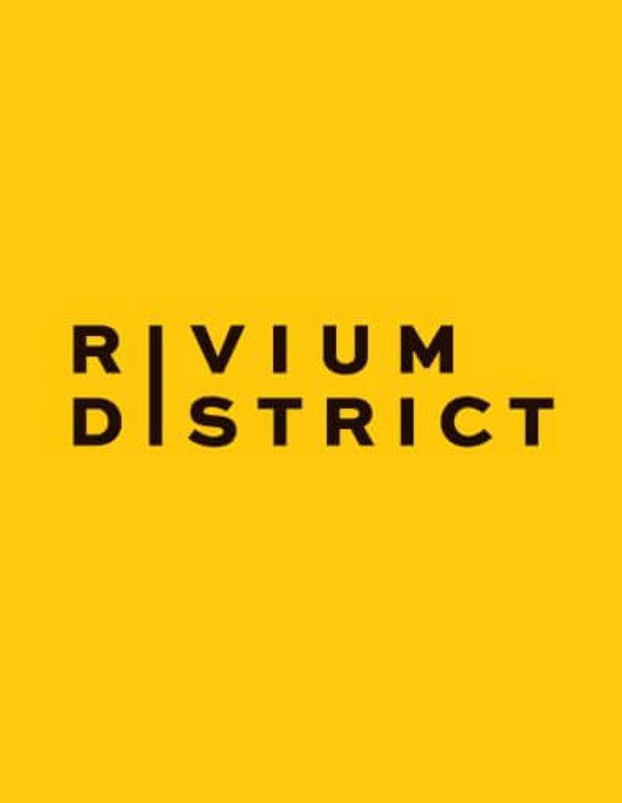 RIVIUM DISTRICT, stad op de horizon